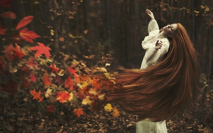 mood-bokeh-autumn-fall-trees-forest-gown-witch-dark-occult-leaves-manip-cg-digital-art-women-model-redhead-pics-208663